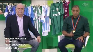 A turma de comentaristas arriscou o resultado do confronto deste sábado (1) entre Palmeiras e Grêmio, válido pela 11ª rodada do Brasileirão.