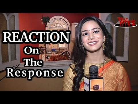 Roshini'S REACTION on the response for Sasural Sim
