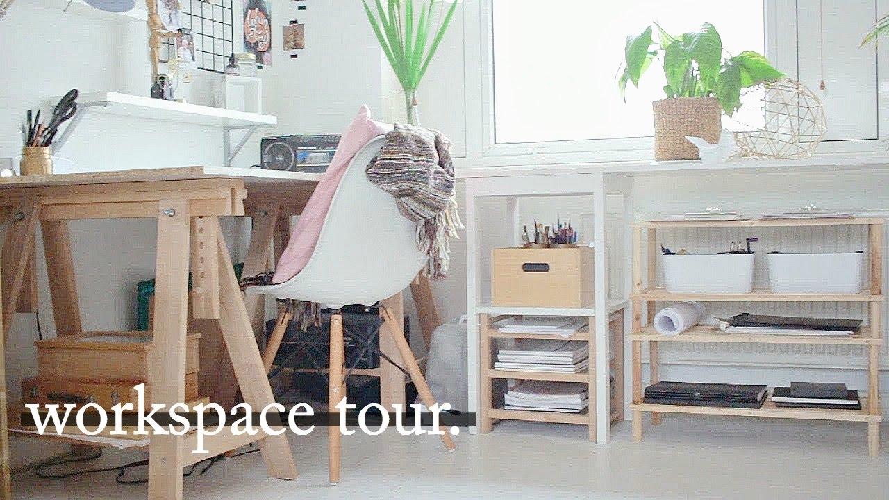 Workspace tour