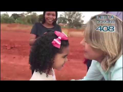 Primeira caminhada como candidata em Ceilândia
