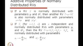 Mod-01 Lec-11 Probability Distribution Of Continuous RVs
