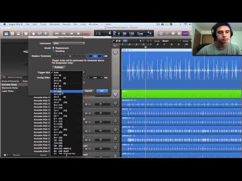 Logic Pro X Tutorial – Drum Replacement & Doubling