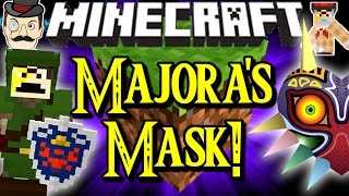 MINECRAFT MAJORA'S MASK! Amazing Masks, Tools, Skills, Weapons&More!