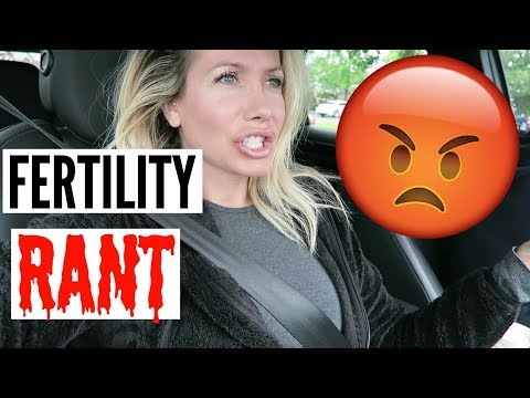 I WENT OFF ON MY FERTILITY DOCTOR (IVF)