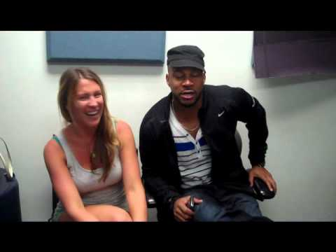 Ashlee interviews comedian Finesse Mitchell