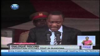 President Uhuru: I Will Not Be Slowed Down By The Opposition's Noises