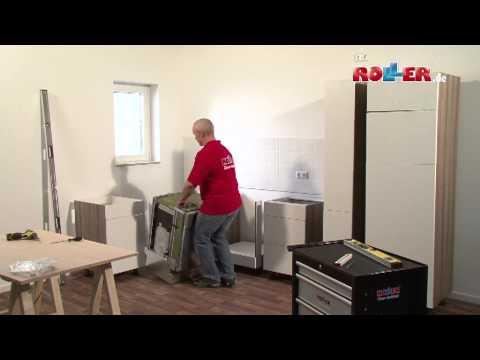 Küche - Schränke montieren