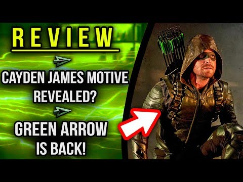 """Green Arrow is BACK! Cayden James MOTIVE Revealed?! - Arrow 6x07 """"Thanksgiving"""" Review!"""