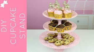 🎀RECIPE: http://www.lindsayannbakes.com/2017/05/video-diy-dollar-store-cupcake-stand.html🎀ALL-NEW VIDEOS: http://bit.ly/LindsayAnnBakesYouTube♡DIY cupcake stand, dessert towers and cake plates, in any color! This project was so much fun and something I wanted to try for a long time. I picked up some plastic plates, bowls and some candlesticks for 99c each, sprayed them pink and glued them together to create tons of different styled cupcake stands, and cake plates and couldn't be more excited with how they tuned out! Note: Put down a doily or something underneath food, so it is not directly sitting on the spray painted plates (sorry I didn't show that in the video!)♡Have a video request that you would like to see? Let me know! Connect with me @LindsayAnnBakes to say hi & tag YOUR creations with #LindsayAnnBakes 🎀 FACEBOOK - lets be friends!http://www.facebook.com/LindsayAnnBakes🎀 INSTAGRAM - more behind the scenes!http://instagram.com/LindsayAnnBakes🎀 TWITTER - come tweet with me!http://twitter.com/LindsayAnnBakes🎀 PINTEREST - sweet inspiration!http://pinterest.com/LindsayAnnBakes🎀 BLOG - check out more of my recipes!http://www.LindsayAnnBakes.com🎀 FOLLOW ALONG - subscribe to get recipes in your email!http://bit.ly/LindsayAnnBakesEmailRecipes🎀 EMAIL - drop me a line!LindsayAnn@LindsayAnnBakes.com
