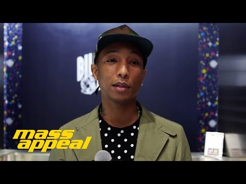 Mass Appeal   Off Tha Wall: Pharrell Williams | Video