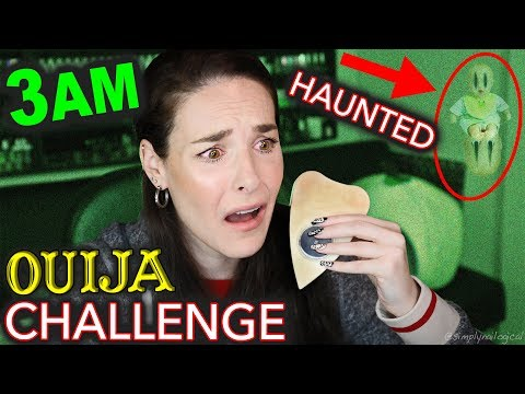 BABY GHOST CAUGHT ON CAMERA *MY FIRST TIME* OUIJA 3AM HAUNTED PARANORMAL ACTIVITY CHALLENGE (SCARY)