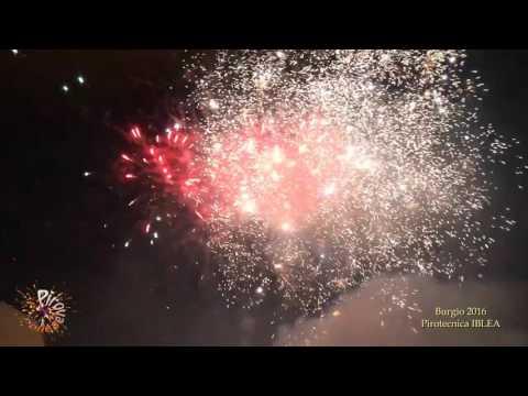 BURGIO (Agrigento) - PASQUA 2016 - Pirotecnica IBLEA