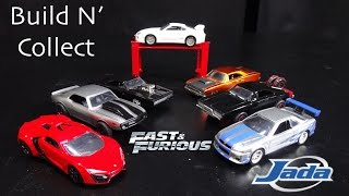 Nonton The Fast and the Furious Build and Collect 6-Car Set Jada Toys Film Subtitle Indonesia Streaming Movie Download