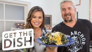Spaghetti Squash & Kale Salad with Guy Fieri | Get the Dish by POPSUGAR Food