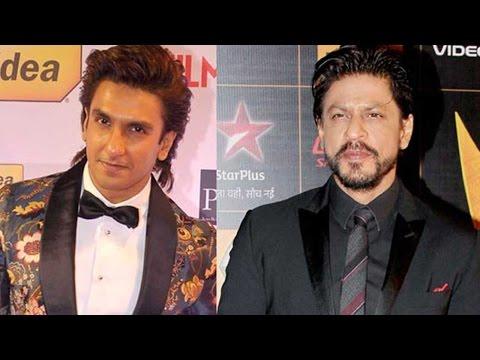 Ranveer Singh Visits Shah Rukh Khan On The Sets Of