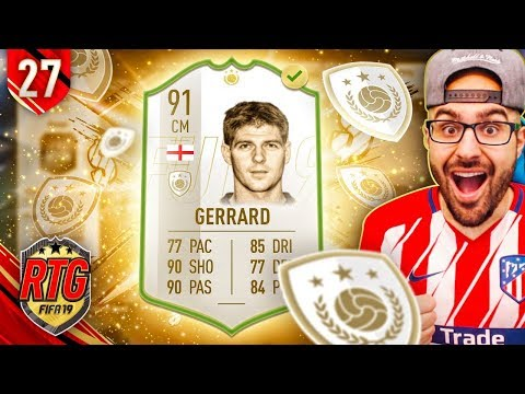 OMG I GOT ICON STEVEN GERRARD! FIFA 19 Ultimate Team RTG #27