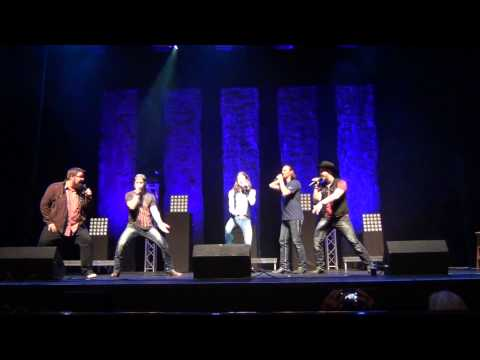 """Honey, I'm Good"" by Andy Grammer, Cover by Home Free (live)"