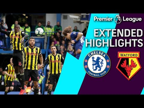 Chelsea V. Watford | PREMIER LEAGUE EXTENDED HIGHLIGHTS | 5/5/19 | NBC Sports