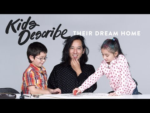 Kids Describe Their Dream House to an Illustrator