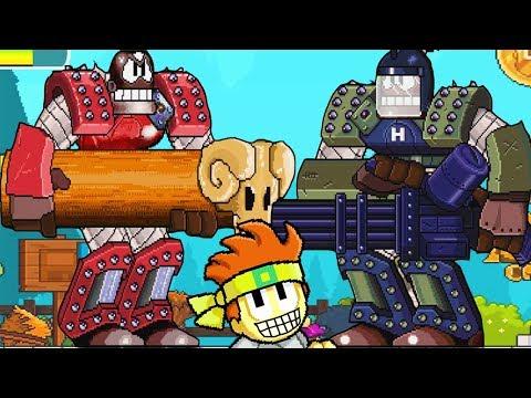 Дэн мужик драки ниндзя - БОСС - Игра как мультик для детей - Дан зе ман (3)