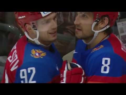 Все голы сборной России по хоккею на Чемпионате Мира 2016 (видео)