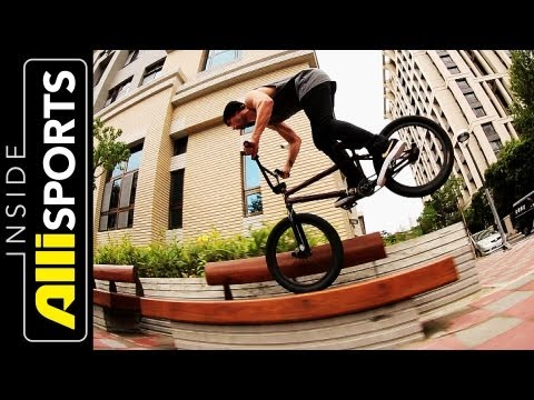 AlliSports - Ride with Garrett Reynolds while he visits Taiwan with some of his fellow Nike BMX Pros Chad Kerley and Alex Kennedy for the Nike Summer Jam Tour. On the tou...