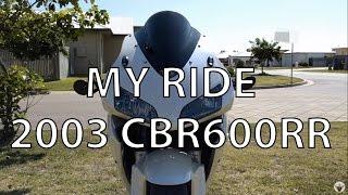 7. First video - 2003 CBR600RR