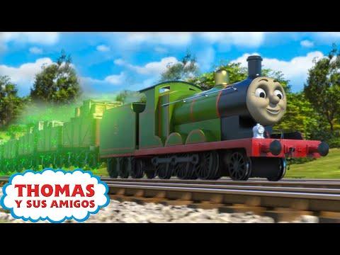 El Abrigo de Colores Soñado de James (Sodor) | Thomas y Sus Amigos | Mejores Momentos | Caricaturas