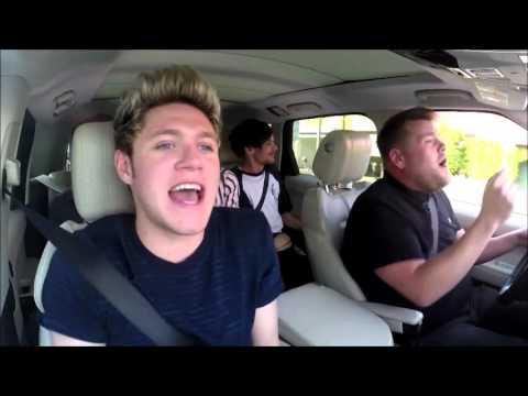 One Direction - Drag Me Down Carpool Karaoke HD (видео)