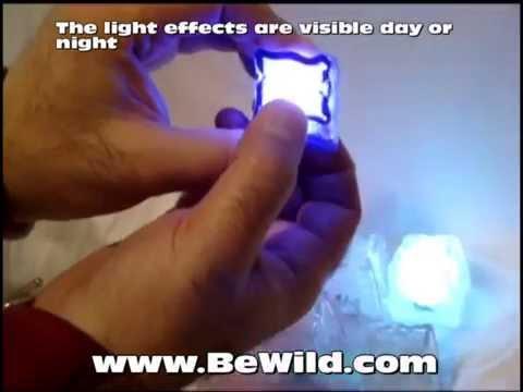 Lite Cubes- LED Party Light Ice Cubes