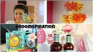 DIY Room Decorations using water bottles & soda cans!