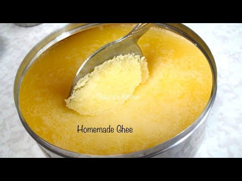 How to make Ghee (Clarified Butter)
