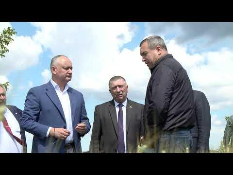 Президент Республики Молдова отправился с рабочей поездкой на юг страны