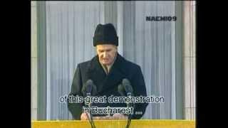 Download Video Nicolae Ceausescu LAST SPEECH MP3 3GP MP4