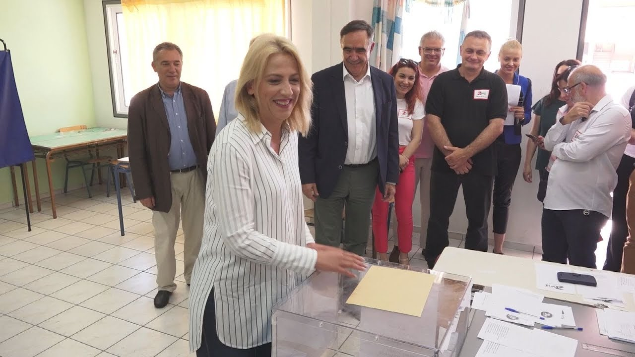 Η Ρ. Δούρου άσκησε το εκλογικό της δικαίωμα