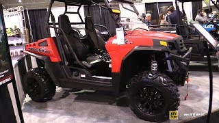 7. 2019 HiSun Strike 1000 Side by Side ATV - Walkaround - 2018 Toronto ATV Show