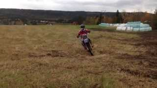10. Yamaha YZ 125 wheelies and fun