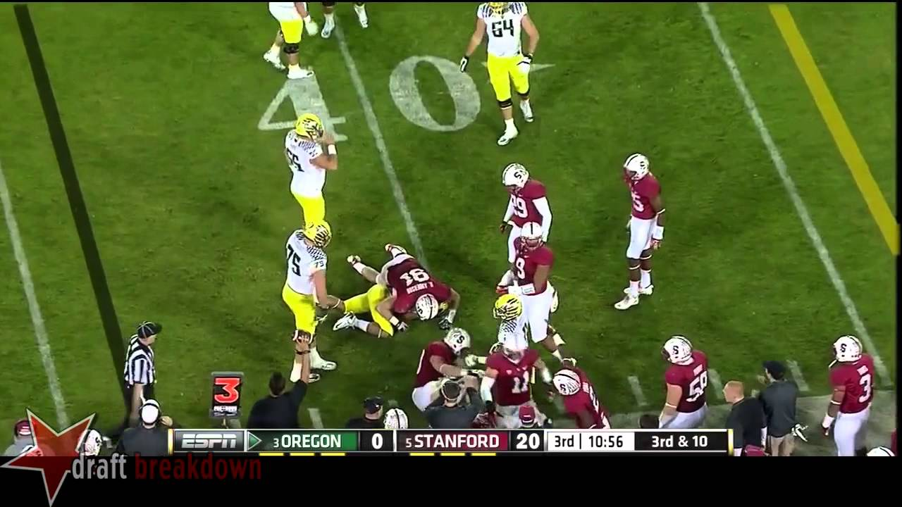 Jake Fisher vs Stanford (2013)