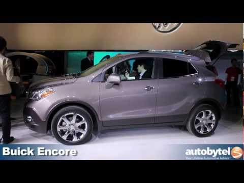 Buick Encore at the 2012 Detroit Auto Show video