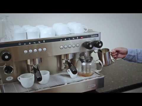 The Visacrem Nera Espresso Machine - Voiceover