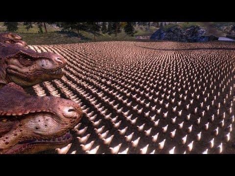 這男子用遊戲製作出超鬧「10000隻雞vs20隻暴龍」,結果讓人大跌眼鏡廢到笑!