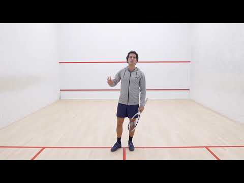 Squash tips: No lets with Lee Drew - Common amateur faults