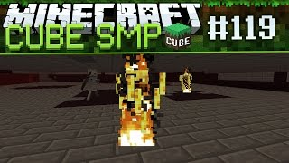 Minecraft Cube SMP: Wither Skeleton Farm! - Ep 119
