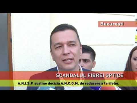 Scandalul fibrei optice, în București