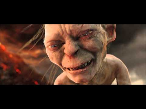 Return of the King ~ Extended Edition ~ Gollum choking Frodo HD