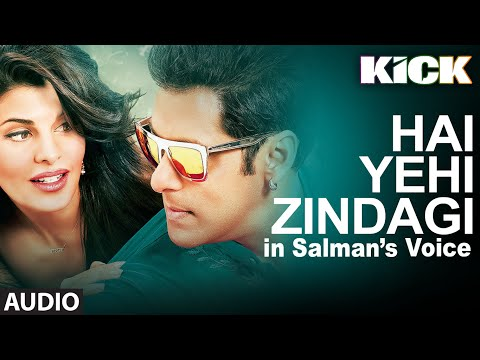 SALMAN - Listen to this exclusive track Hai Yehi Zindagi in the voice of Salman Khan. It is composed by Meet Bros Anjjan and written by Kumar. Don't forget to Hit the LIKE button for Salman Khan. ...