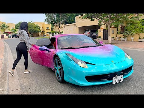 PICKING UP UBER RIDERS IN A FERRARI !!!