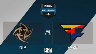 NiP vs FaZe, game 1