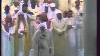 الشيخ علي جابر  صلاة التهجد بالحرم المكي 1407هـ