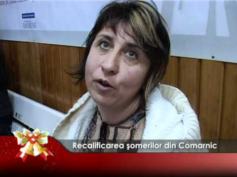 Recalificarea şomerilor din Comarnic